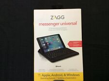 ZAGG Messenger Universal Bluetooth Keyboard & Stand for Apple/Android/Windows