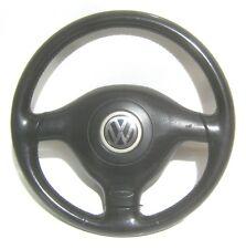 original 3-Speichen Airbag Leder Lenkrad VW Golf 4 Cabrio 1E0419091E 3B0880201AC