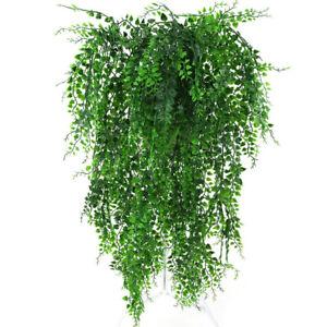 ✅ 82cm Efeugirlande Künstlich Rebe kunstblumen Hängende Pflanzen Efeu Dekor DE