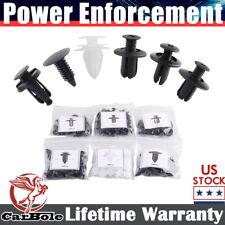 100 Pcs Clip Trim Car Push Pin Rivet Bumper Door Panel Retainers Assortment Kits