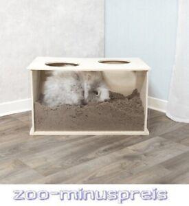 Nager Buddelkiste für Kaninchen, tiergerechte Ausführung Maße: 58 × 30 × 38 cm