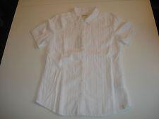 Wrangler Shortsleeve Western Shirt Bluse White Gr. S Slim Fit *W5021B312* NEU