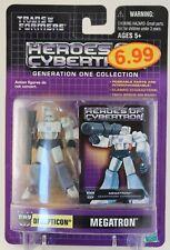 Megatron Transformers HOC Heroes of Cybertron Decepticon Action Figure MOC 2001