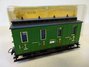 EGGER-BAHN OO9 / HOe SCALE GREEN COACH  [BOXED]