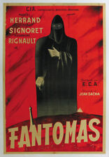 Fantômas Simone Signoret 1947 French movie poster #22