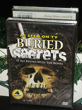 Buried Secrets (DVD) It All Begins With The Bones! As Seen On TV! 4 Hours! NEW!