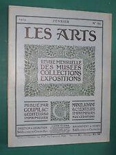 Les Arts revue mensuelle n° 86 1909 Collection de M. Ch. MÈGE