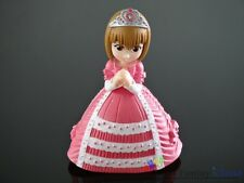 """Japanese anime pretty girl pink Cake decorating 4.5"""" Figure Free Shipping To US"""
