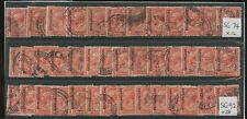 BECHUANALAND KG5 1913-25 PENNY...FINE USED...40 stamps