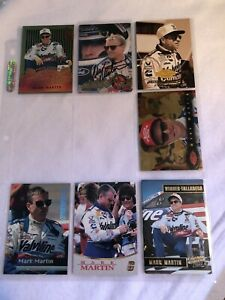 NASCAR Mark Martin 1 Signed And 28 Unsigned COLLECTIBLE Trading Cards