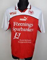 KALMAR FF Home Football XL Shirt Puma Red Sweden Men's Jersey Swedish