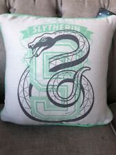 Primark Harry Potter Slytherin cushion *BNWT* Grey & Green College Crest