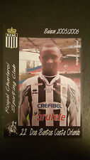 AUTOGRAMMKARTE / AUTOGRAPHCARD Dos Santos Costa Orlando R.Charleroi SC 2005/2006