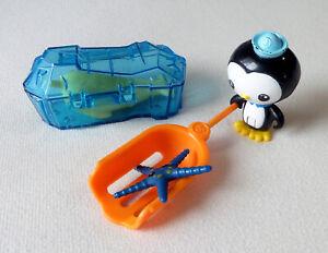 Mattel Octonauts Peso & The Narwhal Set Figures & Pieces (Missing Helmet)
