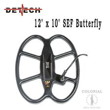 """Detech 12 x 10"""" DD Waterproof SEF Butterfly Coil - Whites DFX, MXT and M6"""