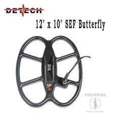 """Detech 12 x 10"""" DD Waterproof SEF Butterfly Coil - Teknetics T2 and T2 LTD"""