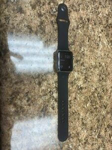 Apple Watch Stainless Steel 42mm 1st Generation Series 1 Works well!