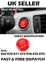 BMW Start Stop Engine Red Button Cap X5 E70 X6 E71 Z4 E89 3 5 Series E90 E91 E60