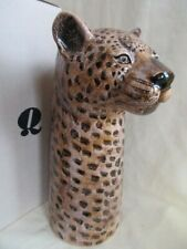 More details for  quail ceramic large size leopard  flower vase  boxed ideal gift