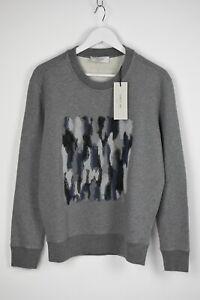 CERRUTI 1881 Men MEDIUM Embroidered Front Crew Neck Sweatshirt Jumper 9321 mm