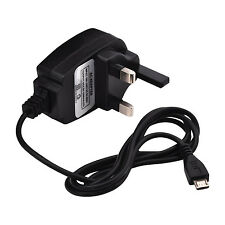 Micro Mains Charger Plug Wall 3 Pin For Motorola E , G, X, Moto X 2014 Nexus 6