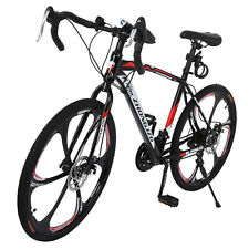 26inch Full Suspension Mountain Bike Shimano 21 Speed Men's Bikes Bicycle MTB AA