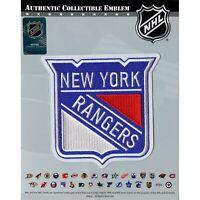 2019 New York Rangers Primary Shield NHL Hockey Team Logo Jersey Patch Emblem