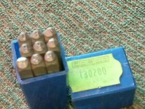 Metal Number Stamps Nos Made In Germany