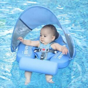 baby Swimming Ring Pool Toys Swim Trainer For Infant Solid Non-inflatable N