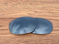 Inew Black Iridium polarized Replacement Lenses for Oakley Big Square Wire