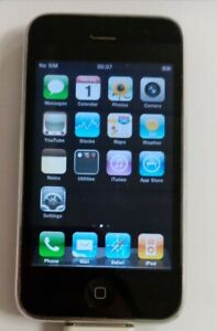 Apple iPhone 3GS - 8GB - Black vintage iphone (Unknown network) A1303 (GSM)