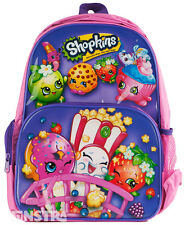 Shopkins Backpack Shopkins Bag School Bag Book Bag Luggage Toy Kids Girls New