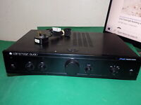CAMBRIDGE AUDIO A-Series A1 mk3 Vintage Stereo Integrated Amplifier Amp Black