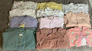 baby girl sleepsuits 3-6 months bundle