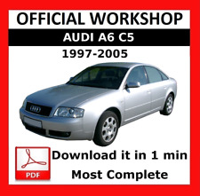 >> OFFICIAL WORKSHOP Manual Service Repair Audi A6 C5 1997 - 2005