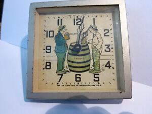 LUX CLOCK BEER DRINKERS 1930'S