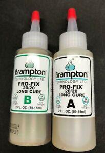 2 X 2 oz. BOTTLES = 4 OZ. BRAMPTON PRO-FIX LONG CURE SHAFTING EPOXY