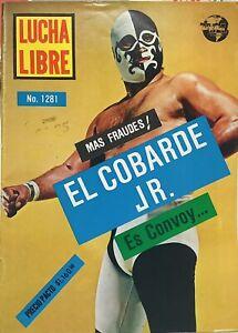 Vintage 1988 Lucha Libre No. 1281 Magazine Mexican Wrestling