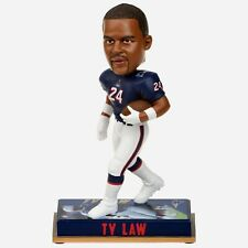 #24 TY LAW NFL NEW ENGLAND PATRIOTS RETIRED BOBBLEHEAD