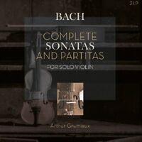 ARTHUR GRUMIAUX-COMPLETE SONATAS & PARTITAS  2 VINYL NEW+ BACH,JOHANN SEBASTIAN