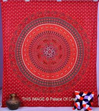 Indian Wall Hanging Queen Elephant Mandala Bedspread Decor Tapestry Hippie Throw