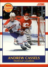 1990-91 Score Canadian #422 Andrew Cassels RC   Montreal Canadiens