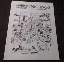 1977 Museum of Cartoon Art INKLINGS Winter #6 FN+ Magazine Comicon