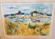 Rare Yolande Ardissone Signed Lithograph Limited Edition with COA Artist France