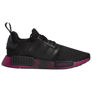 Women's Adidas Originals NMD R1 CORE BLACK/POWER BERRY Sneakers choose size