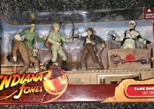 Indiana Jones La Ultima Cruzada Tanque Showdown Acción Figura Set RARE