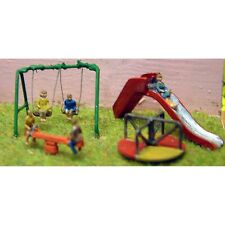 More details for childrens playground & figures – unpainted(5) n gauge figures langley a82