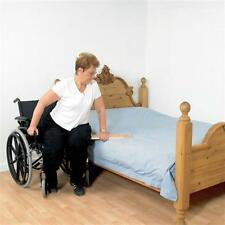 Patterson Medical Transfer Board Heavy Duty Wood Wheelchair to Bed Mobility Aid