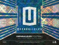 2017 Panini Unparalleled Lime Green Insert Cards Pick From List (All Versions)