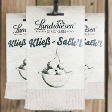 Kloßsack,100% Baumwolle,Thüringer Klöße,Kloßpresse,Kloßsäcke,vogtländische Kließ